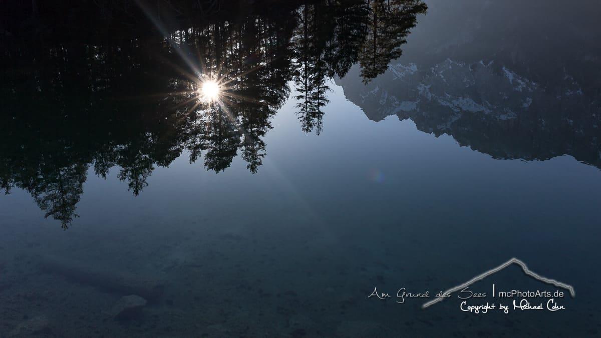 Sonnenaufgang am Eibsee