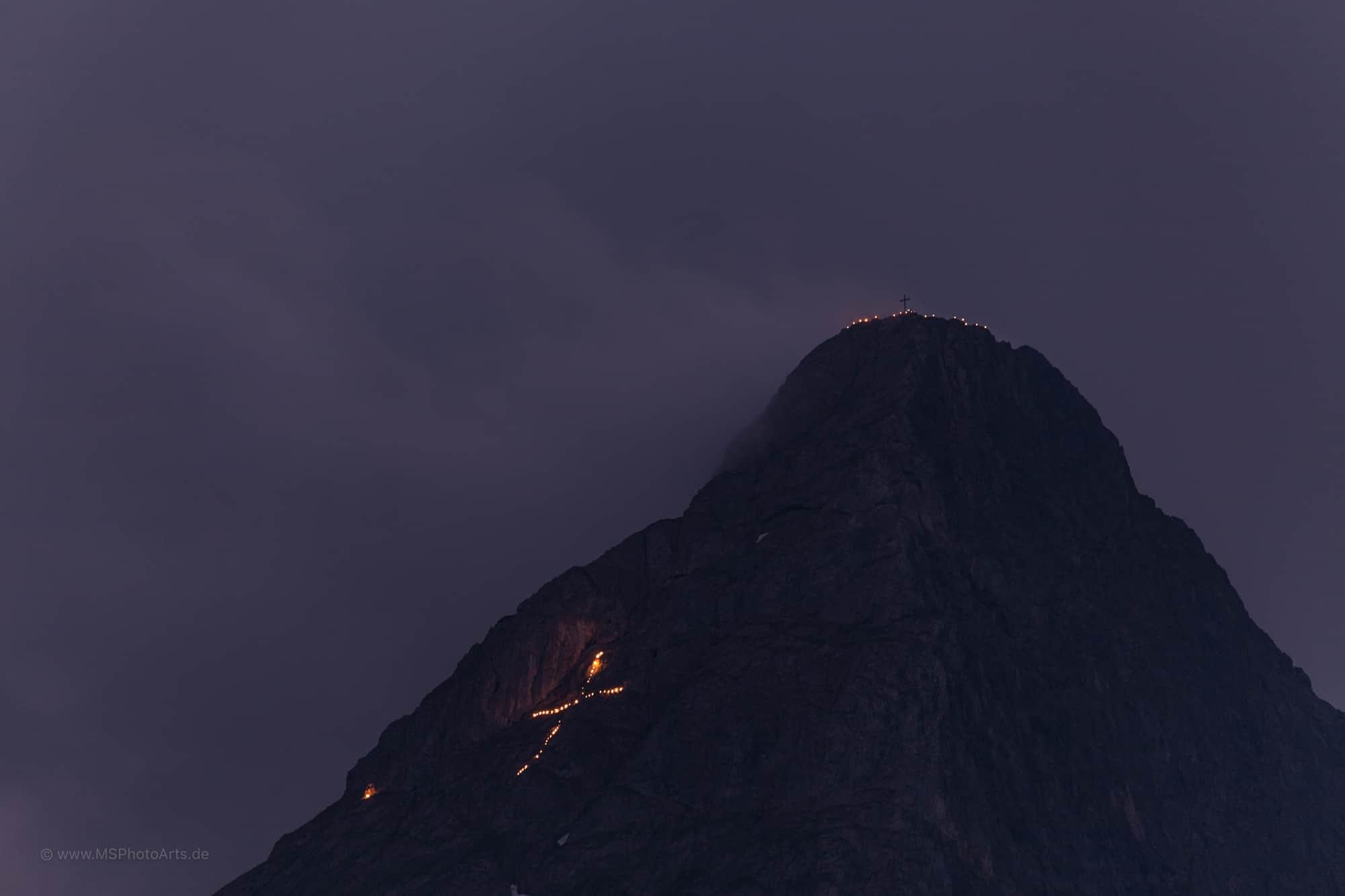 Johannifeuer und Ehrwalder Bergfeuer 2017
