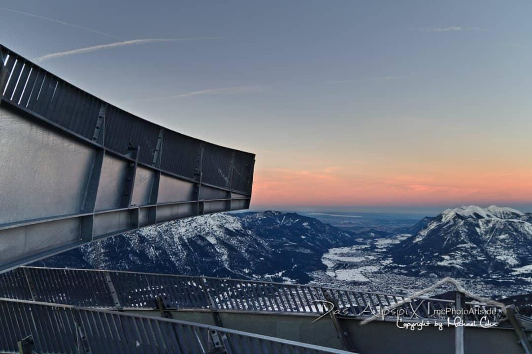 AlpspiX sunset