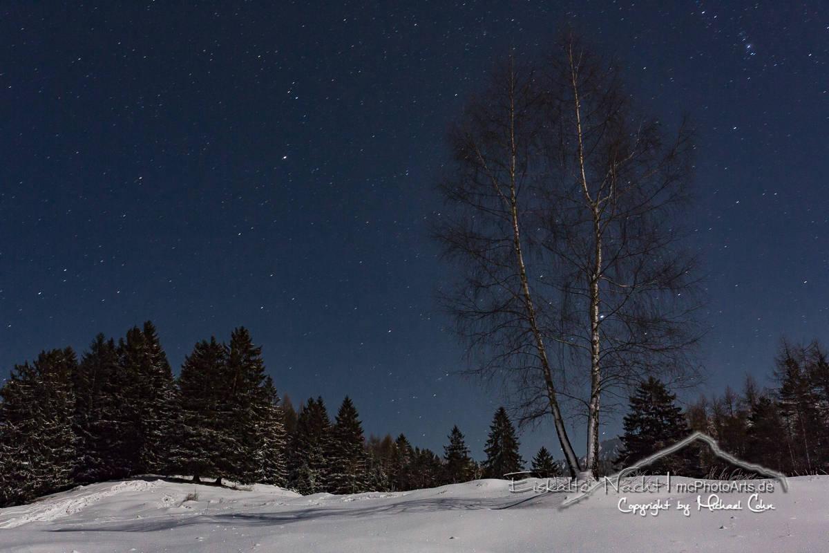 Eiskalte Nacht bei -16°C